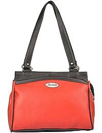 Fostelo Women's Deena Medium Shoulder Bag (Red) (FSB-559)
