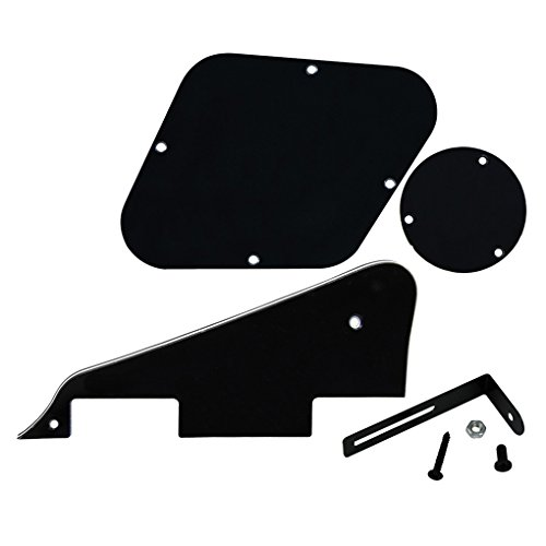 ikn-lp-pickguard-rear-plate-switch-plate-cavity-covers-mit-schwarzer-halterung-fur-epiphone-les-paul