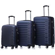 Zwillingsrollen 2088 Reisekoffer Koffer Trolleys Kofferset Reisekofferset Hartschale in 14 Farben