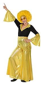 Atosa 28325 - bailarín del disco, muchacha, oro, tamaño 140, negro/dorado