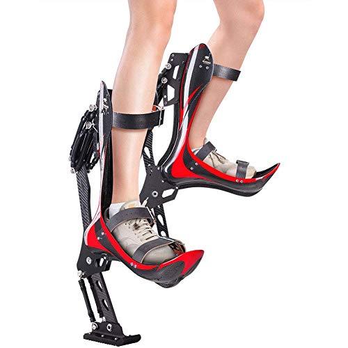 LOVEQIZI Bionic Boots Ostrich Schuhe Prellen Schuhe Bionic Schuhe Laufschuhe Erwachsene Extremsport für Erwachsene Laufen Fitness-Übung Männer Frauen Profis