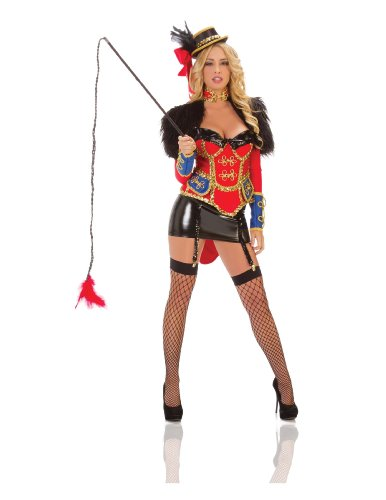 Sexy Circus Ring Leader Fancy dress costume (Circus Dress Fancy)