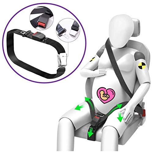 Sicherheitsgurtadapter für schwangere Frauen im Auto, zugelassenes Befestigungssystem, keine Kleidungsknöpfe, Kunststoffschnallen oder nutzlose Kissen
