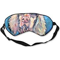 Sleep Eye Mask Dog Fashion Lightweight Soft Blindfold Adjustable Head Strap Eyeshade Travel Eyepatch preisvergleich bei billige-tabletten.eu