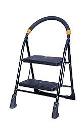 TNT 2 Steps Folding Ladder (Black)