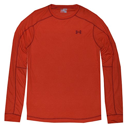 Under Armour – Maglietta termica 2.0 Crew Fuego/Crimson (826)