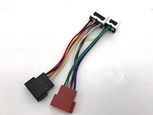 Autostereo auto Car stereo cablaggio cavo adattatore 12-120ISO standard cablaggio auto adattatore radio per Nissan 2003+ cablaggio per auto stereo lettore CD Plug - Nissan Radio Cablaggio
