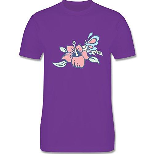 Blumen & Pflanzen - Blumen - Herren Premium T-Shirt Lila