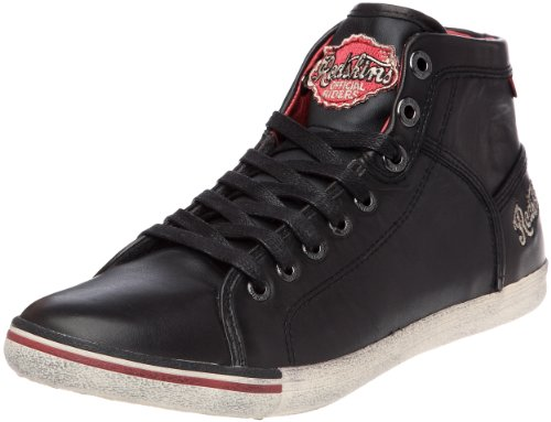 Redskins Under, Herren Sneaker Schwarz