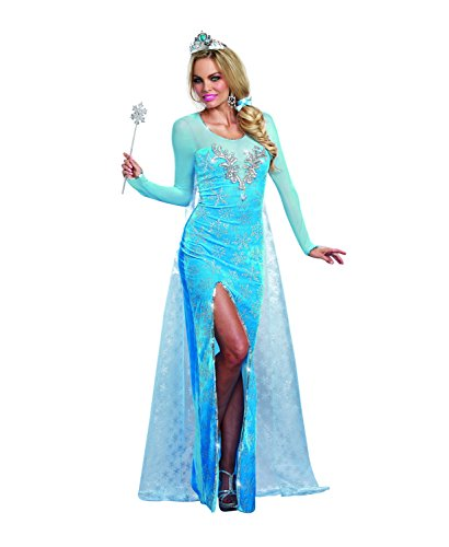 Dreamgirl 9897 Ice Queen Kostüm (Queen Fancy Dress Ice Kostüm)