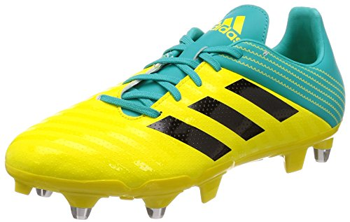 adidas Malice (SG), Scarpe da Rugby Uomo, Giallo (Amasho/Negbás/Agalre 000), 46 EU