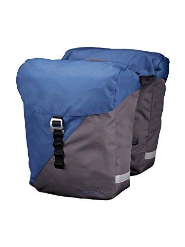 Racktime Unisex Vida Doppeltasche blau