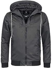 Navahoo Herren Winter Jacke Sportliche Jacke Wasserabweisend Winddicht B623