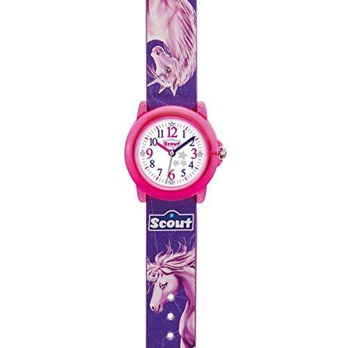 Scout Mädchen-Armbanduhr Analog Quarz Plastik 280305023 - 2