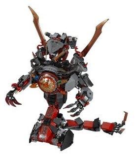 Preisvergleich Produktbild Der Schlangenroboter aus Verhängnisvolle Dämmerung - LEGO 70626 OHNE FIGUREN -