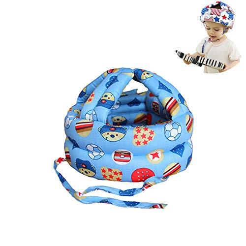 G-Tree Baby-Kleinkind-weich Schutzhelm - Oberflächenmaterial Baumwolle, Fill-in Material Sponge Einstellbare Protective Geschirre Mütze, Baby-Geschenk (Ball)