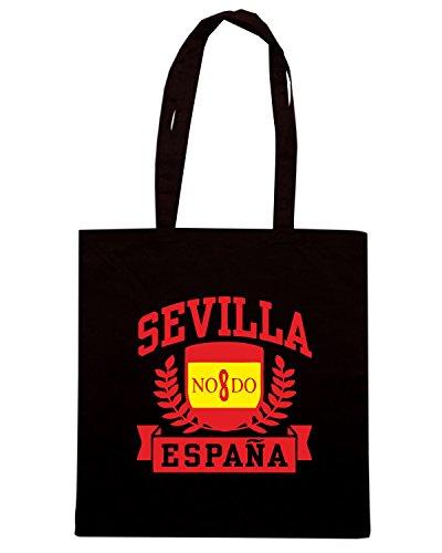 T-Shirtshock - Borsa Shopping TSTEM0205 sevilla espana Nero