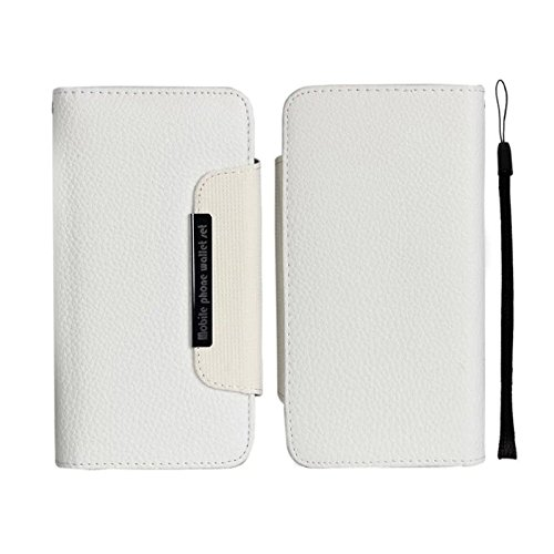 E-Max 4 en 1 Wallet Flip Case Cover Housse Portefeuille Etui Pour Coque Apple iPhone 6 Plus 5.5 Inch , Stylus et Film protecteur inclus, Brun (E03) F06