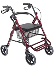 FASTWELL Multipurpose Walker Commode Chair