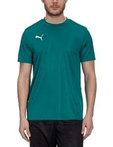 PUMA Foundation Men's Shirt Polyester team green-white Size:S