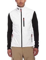 Helly Hansen Crew Vest - Chaleco náutica para hombre, color blanco, talla XXL