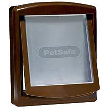 PetSafe Gattaiola per Interni con 2 modalità di Bloccaggio, Gattaiola per Animali Domestici da Interno, Nasconde Lettiera o Cibo, Installazione Fai da Te