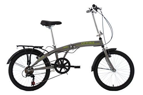 KS Cycling Erwachsene Faltrad Cityfold RH 27 cm Fahrrad