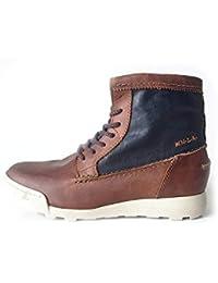 5ab195084732c3 NZA New Zealand Auckland Herrenschuh Stiefel Boots Echtleder braun Größe 41