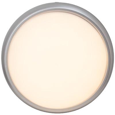 LED Wand- und Deckenleuchte 850 Lumen, 15W, eisen/weiß (Lichtfarbe: warmweiß) von Brilliant bei Lampenhans.de