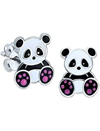 Panda Earrings - Sterling Silver Gift