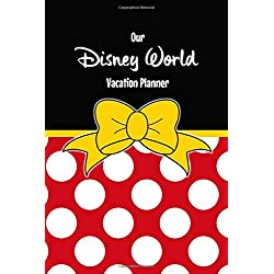 Our Disney World Vacation Planner: Minnie style travel sized Walt Disney World Orlando Vacation Planner, plan hotels, dining, fast passes and journal ... daily. Your perfect holiday preparation tool