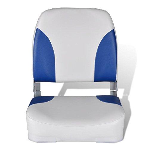 Nishore Bootssitz Steuerstuhl Anglerstuhl Klappstuhl UV-beständig mit wasserdichtem Kissen 41x36x48cm für Fischen Sonnenbad
