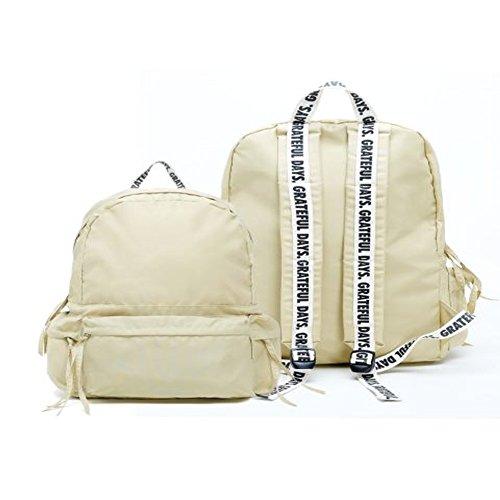 Preisvergleich Produktbild KPOP EXO K Fashion Schule Rucksack bookbag-unionobjet capsule169,  beige