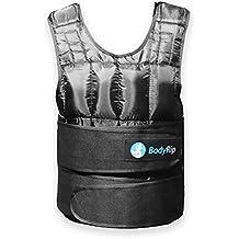 BodyRip Gewichtsweste Deluxe 2.0, gepolstert, 5kg, 10kg, 15kg, 25kg, 30kg