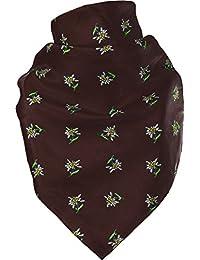 Feines Tuch mit Edelweiss in vielen Farben 60 X 60 cm