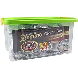 DOSETTES DE CAFE COMPATIBLES SENSEO ® DOMINO CORSE BOITE REUTILISABLE 200 + 10 GRATUITES