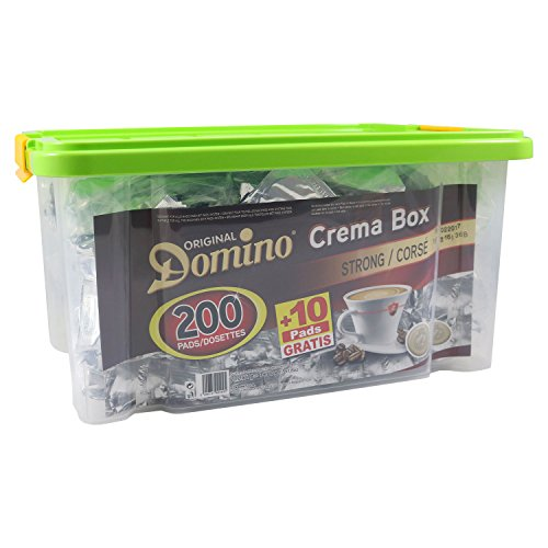 DOMINO Crema Box Strong 200 Kaffeepads