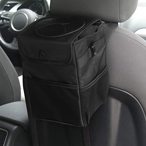Blizim Auto Mülleim Organisator 10L Oxford Stoff Auslaufsicher Müll Tasche -