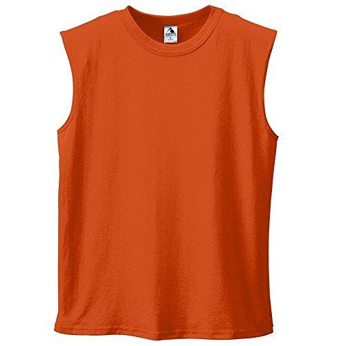 Augusta Unisex Sportswear Shirt Shooter Orange - orange