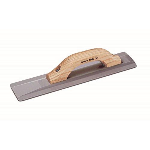 Kraft Werkzeug cf015m breit Magnesium Hand Float mit High Lift Holz Griff, 16x 3-1/2Zoll -