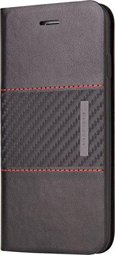 viva-madrid-grafito-faja-slim-middle-lines-iphone-6-plus-6s-plus-folio-schwarz-rot-feine-linien-quer