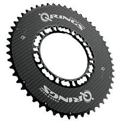 Rotor Q-Ring Aero - Platos - exterior negro Modelo 53 dientes 2017