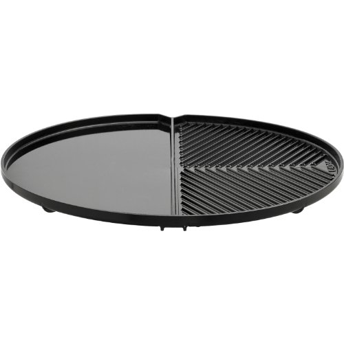 De Carro (CADAC 8910–100Split Grill/Grillplatte für Carri Chef 2Outdoor Gegrilltes, 44,5cm)