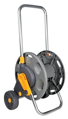 Hozelock - Carro portamangueras para 60 m de 12,5 mm - incluye 2 conectores para manguera de 15 mm