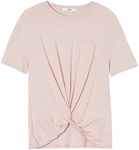 FIND Damen T-Shirt Rosa (Blush)