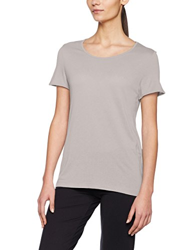 Noisy May Nmcrips S/S Top, T-Shirt Donna Grigio (Ash)