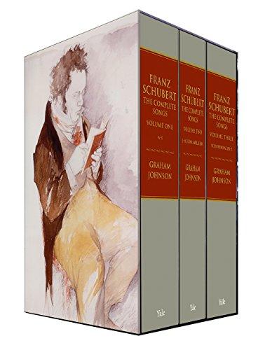 Franz Schubert: The Complete Songs por Graham Johnson