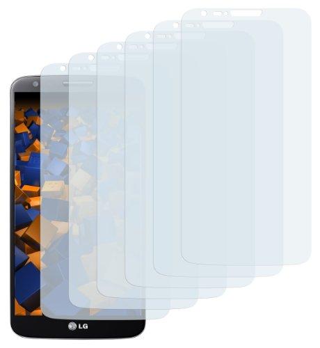 mumbi Schutzfolie kompatibel mit LG G2 , 6er Pack
