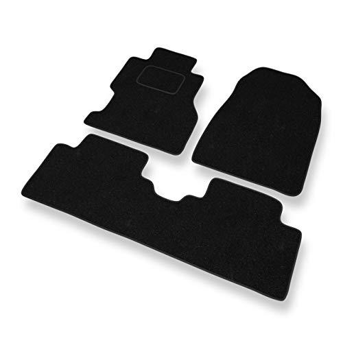 Mossa Fußmatten - 3-teilig - schwarz - Automatten Velours - 5902538786348 - Fußmatten Civic Honda 2005