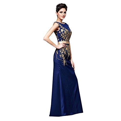 YUXING neuen Stil Kleid Trauzeugin Prom Abendkleid Cocktail langen ärmel High-End-süß Mickey (Mickey Kleid)